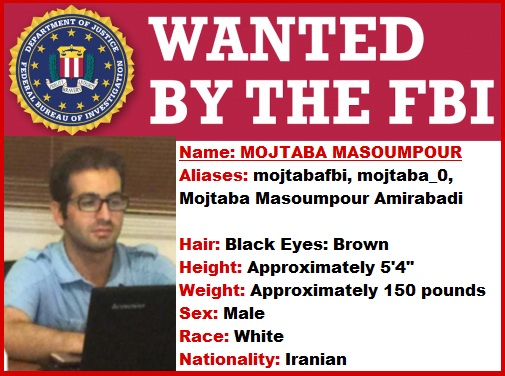 Most Wanted by FBI-Mojtaba Masoumpour